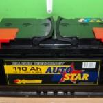 Akumulators 110Ah Autostar 760A 12V