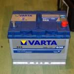 Akumulators 70Ah Varta 630A 12V augstais