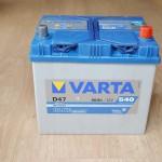 Akumulators 60Ah Varta 540A 12V augstais
