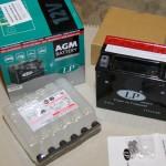 Akumulators moto Landport YTX12-BS 12V 10Ah