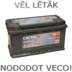 Akumulators 100Ah Deta Senator 3 900A 12V