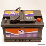 Akumulators 70Ah AD 640A 12V zemais