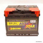 Akumulators 66Ah Autostar 480A 12V