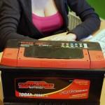 Akumulators 100Ah Sznajder 760A 12V