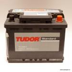 Akumulators 55Ah Tudor Standard 460A 12V