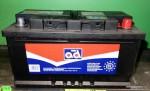 Akumulators 80Ah AD 740A zemais