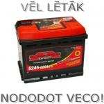 Akumulators 62Ah Sznajder 520A 12V zemais
