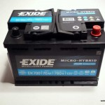 Akumulators 70Ah Exide AGM 760A 12V