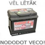 Akumulators 62Ah Tudor Technica 540A 12V