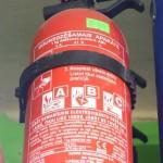 Ugunsdzēšamais aparāts 1 kg (UG-1)