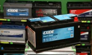 Akumulators AGM Exide 95Ah 850A