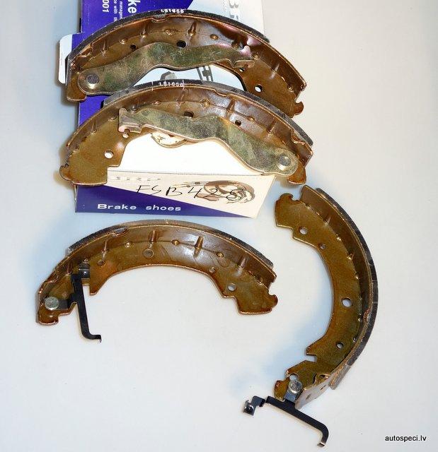Bremzu loki BRP FSB428