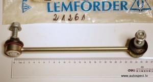 Stabilizatora atsaite stienis zaldatins prieksejais labais Lemforder 21261