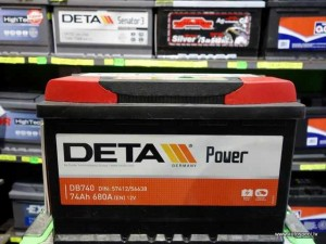 akumulators Deta 74ah 680a