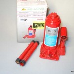 Domkrats hidrauliskais 2T Alex Industrial (0677809)
