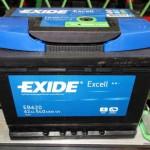 Akumulators 62Ah Exide Excell 540A 12V