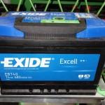 Akumulators 74Ah Exide Excell 680A 12V