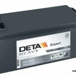 Akumulators 185Ah Deta Heavy Expert 1100A 12V
