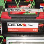 Akumulators 85Ah Deta Power 760A 12V zemais