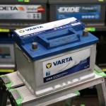 Akumulators 60Ah Varta Blue 540A 12V zemais