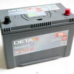 Akumulators 95Ah Deta Senator 3 800A 12V augstais
