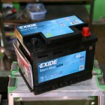 Akumulators 60Ah Exide AGM 680A 12V