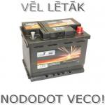 Akumulators 60Ah Wertteile 540A 12V