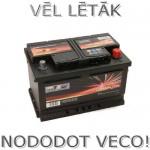 Akumulators 72Ah Wertteile 680A 12V