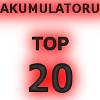 Pirktāko akumulatoru TOP 20