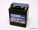 Moto akumulators Exide Bike AGM12-14 12V 12AH 210A