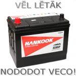 Akumulators 70Ah Hankook 540A 12V kreisais pluss, augstais