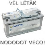 Akumulators 105Ah Varta Silver Dynamic AGM 950A 12V