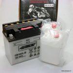Akumulators moto 4-RIDE YB16CL-B (CB16CL-B)19AH 12V