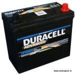 Akumulators 45Ah Duracell Advanced 12V augstais