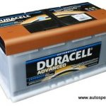 Akumulators 95Ah Duracell Advanced 760A 12V