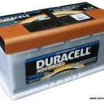 Akumulators 100Ah Duracell Advanced 800A 12V