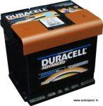 Akumulators 50Ah Duracell Advanced 450A 12V