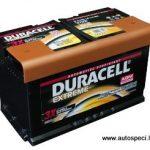 Akumulators 80Ah Duracell Extreme AGM 800A 12V
