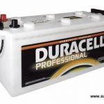 Akumulators 225Ah Duracell Professional 1050A 12V