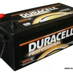 Akumulators 180Ah Duracell Professional 1000A 12V