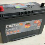 Akumulators 95AH Deta Senator 3 800A 12V