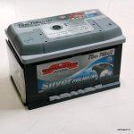Akumulators 75AH Sznajder Silver 750A 12V zemais