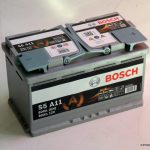 Akumulators 80AH Bosch AGM 800A 12V