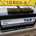 Akumulators 105AH TAB OEM 880A 12V
