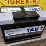 Akumulators 75AH TAB OEM 800A 12V