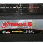 Akumulators 190AH A-Mega 5 1200A 12V
