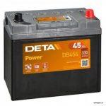 Akumulators 45AH Deta Power330A 12V