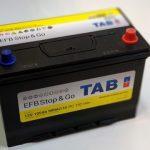 Akumulators 105AH EFB TAB Stop & Go 900A Asia