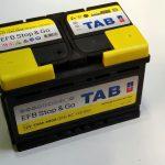 Akumulators 70AH EFB TAB Stop & Go 680A 12V
