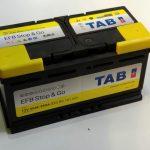 Akumulators 90AH EFB TAB Stop & Go 850A 12V